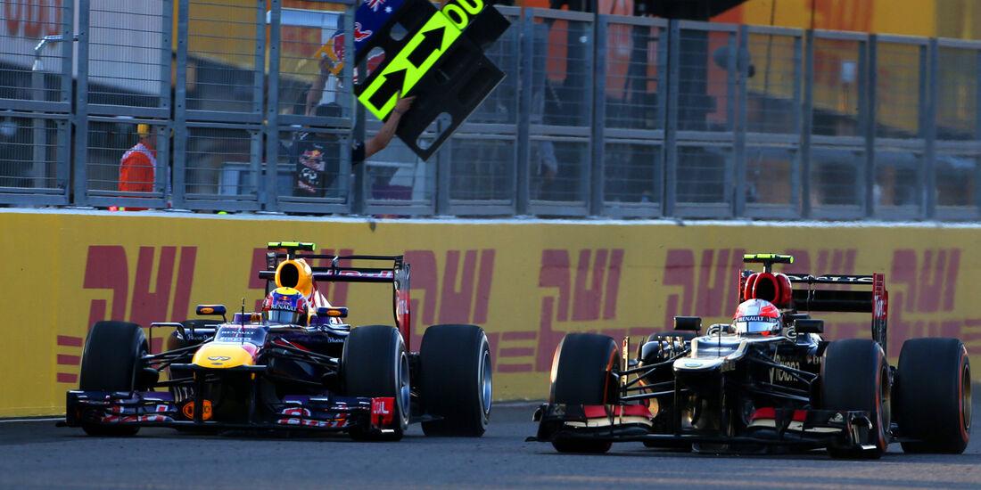 Webber & Grosjean - GP Japan 2013