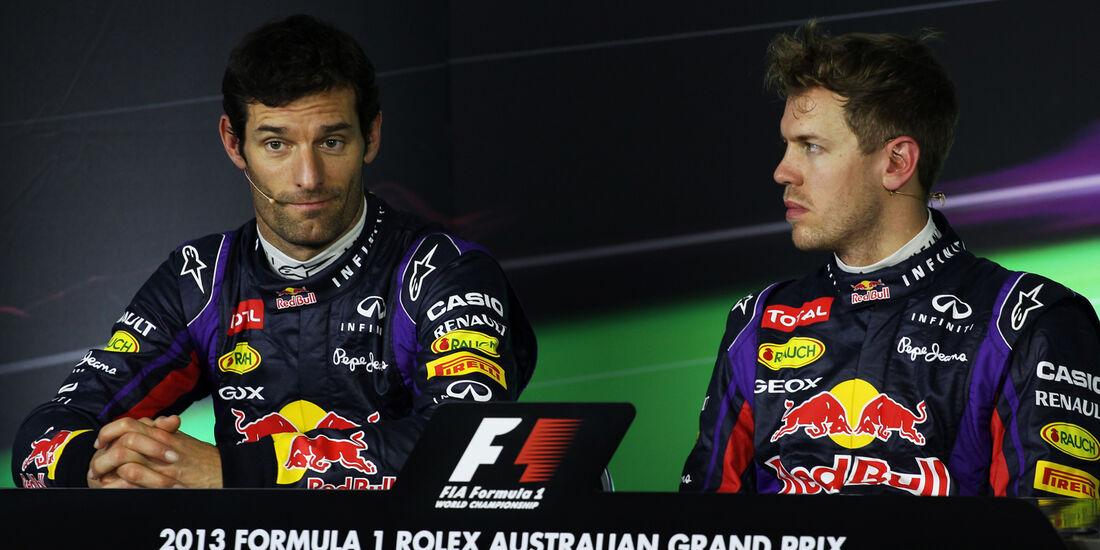 Webber & Vettel - GP Australien 2013