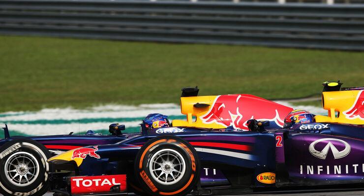 Webber Vettel GP Malaysia 2013