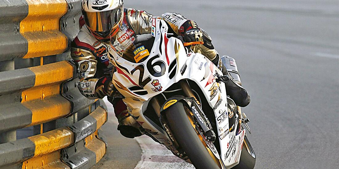 Weltfinale, Macau, Motorrad, Rennszene