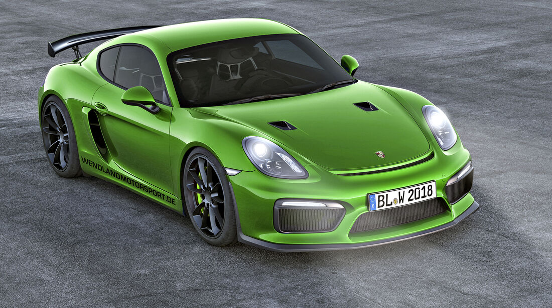 Wendland-Porsche 718 Cayman GTS