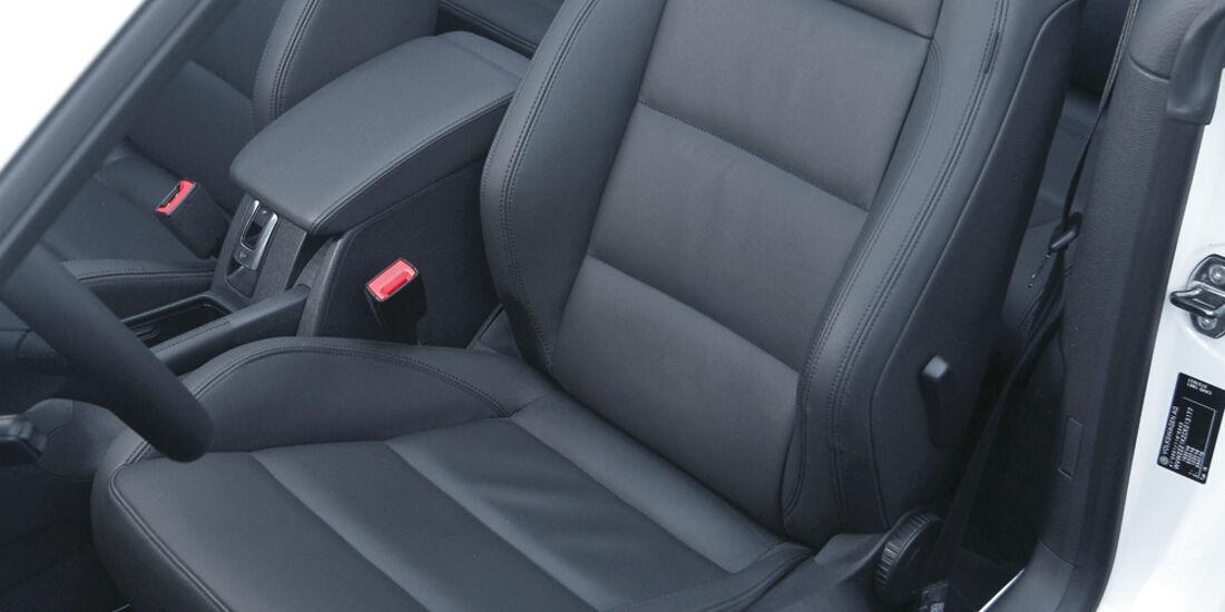 Wendland-VW Golf 1.4 TSI Cabrio, Sitze