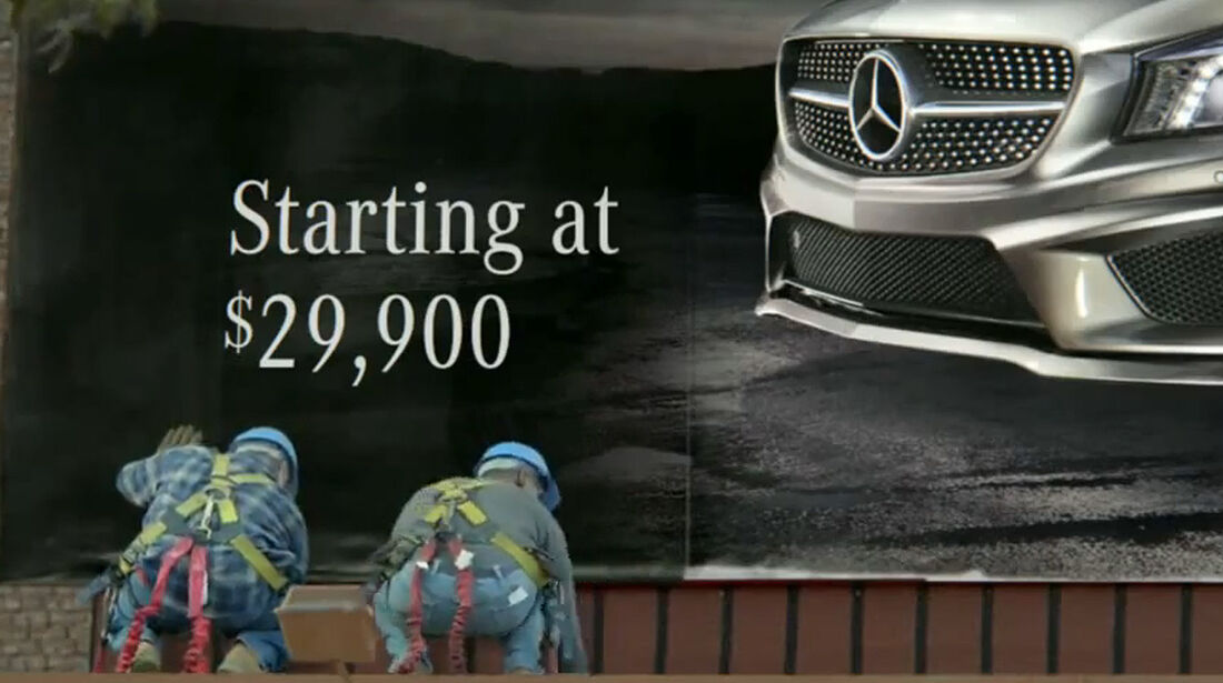 Werbespots Superbowl 2013, Mercedes CLA