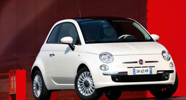 Werkstättentest, Fiat 500