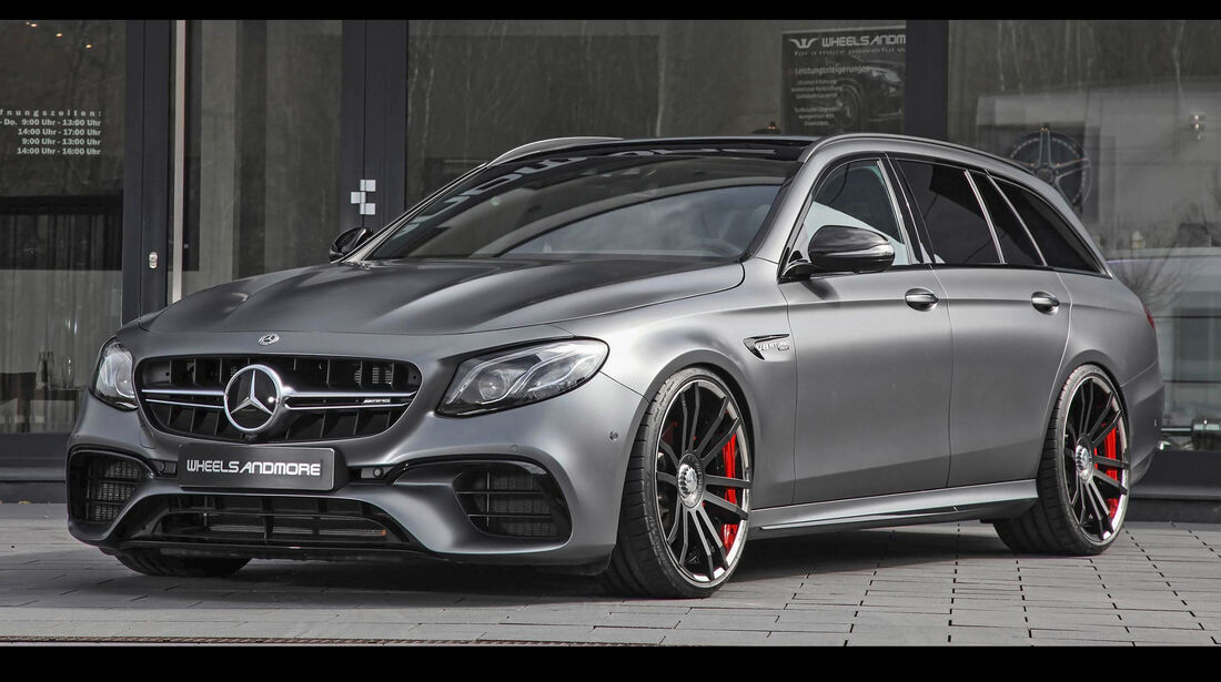 Wheelsandmore-Mercedes-AMG E 63 - Tuning - Limousinen/Kombis - sport auto Award 2019