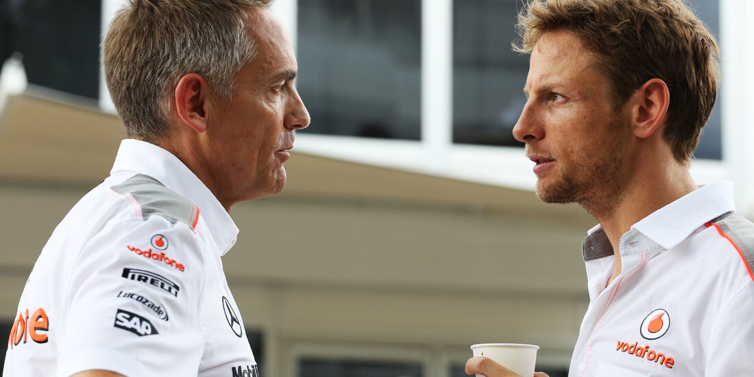 Whitmarsh & Button - McLaren - GP Malaysia - 23. März 2013