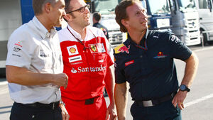 Whitmarsh, Domenicali und Horner