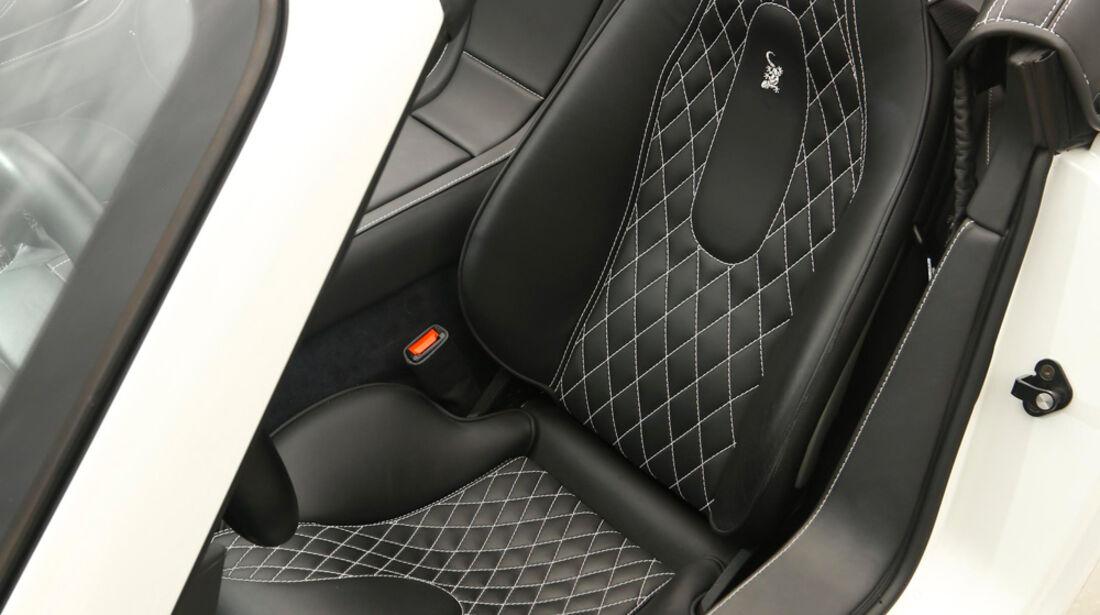 Wiesmann Roadster MF4-S, Fahrersitz