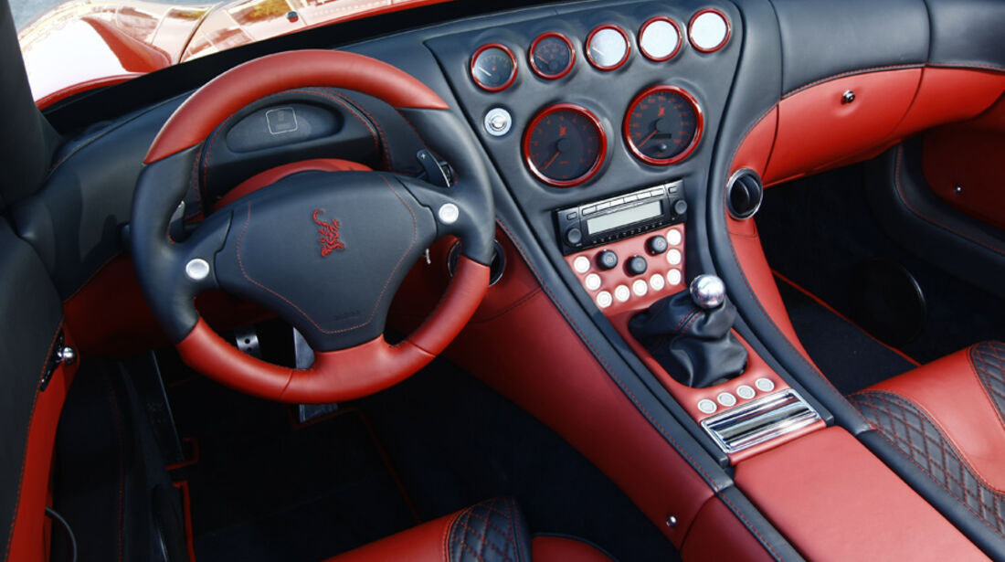 Wiesmann Roadster MF5 Cockpit