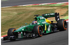 Will Stevens - Caterham - Formel 1 - Young Driver Test - Silverstone - 18. Juli 2013
