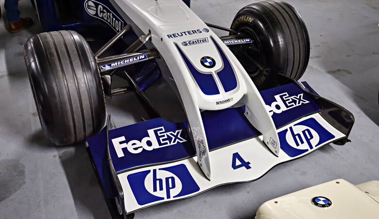 Williams-BMW FW26 - Baujahr 2004 - Formel 1 - Rennwagen - BMW Depot
