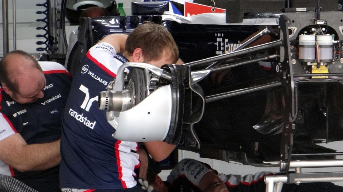 Williams Bremsverkleidung - Formel 1 - GP Bahrain - 18. April 2013