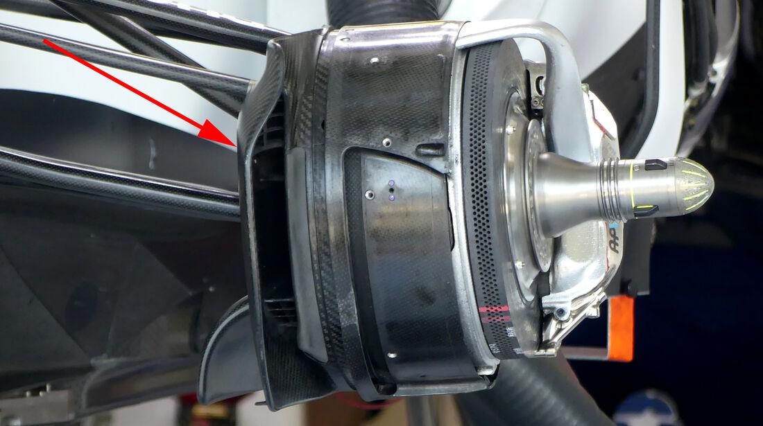Williams - F1 Technik - GP Österreich 2016