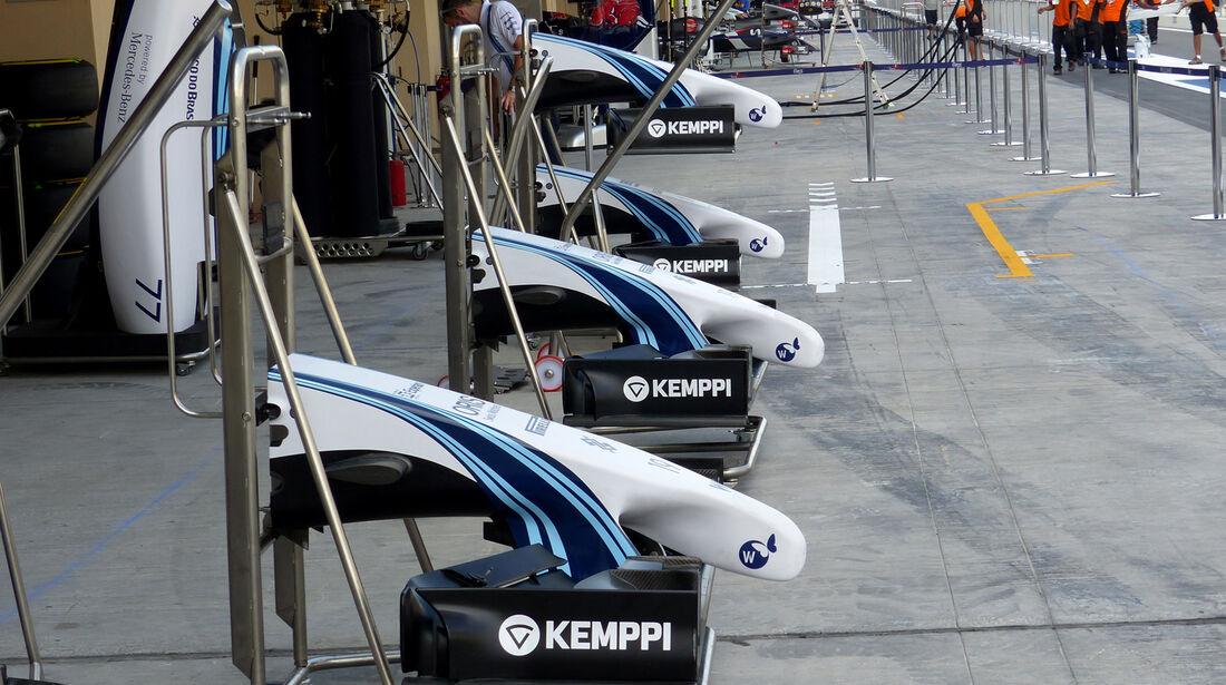 Williams - Formel 1 - GP Abu Dhabi - 20. November 2014