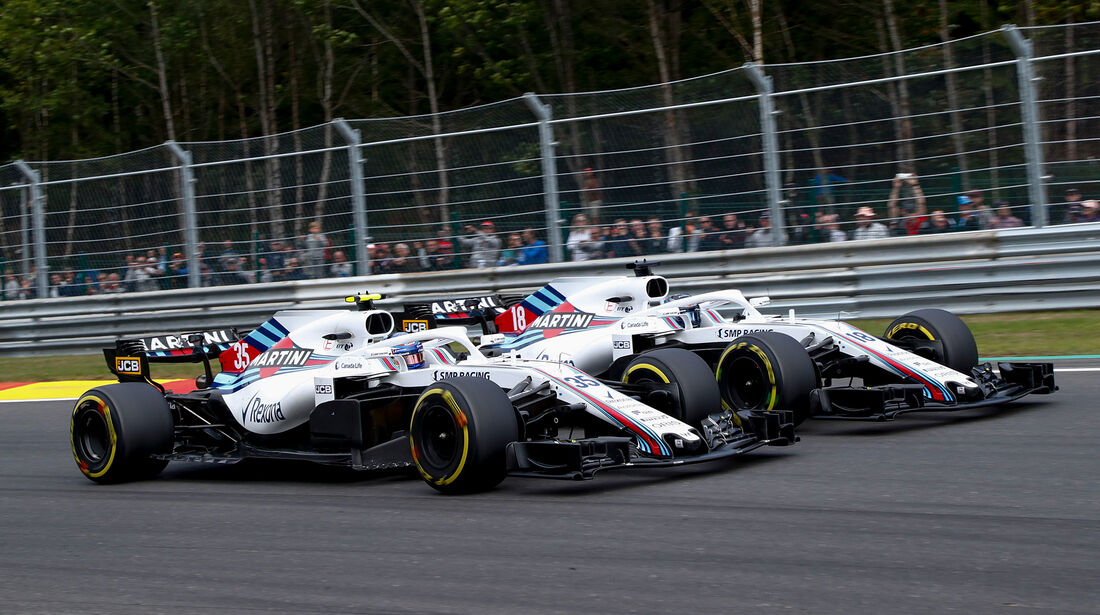Williams - Formel 1 - GP Belgien 2018