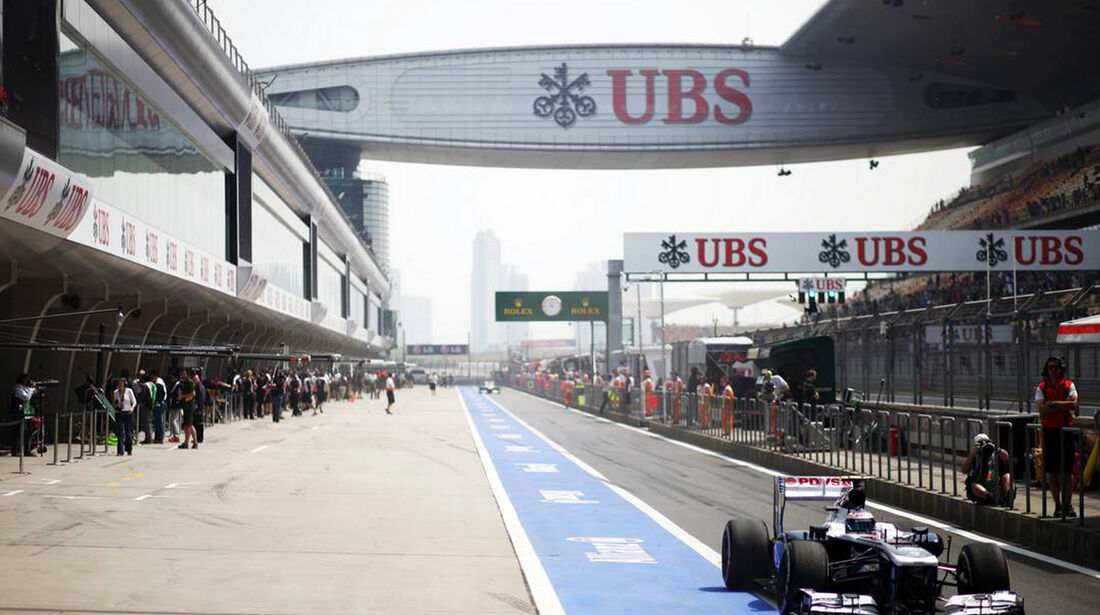 Williams - Formel 1 - GP China - 12. April 2013