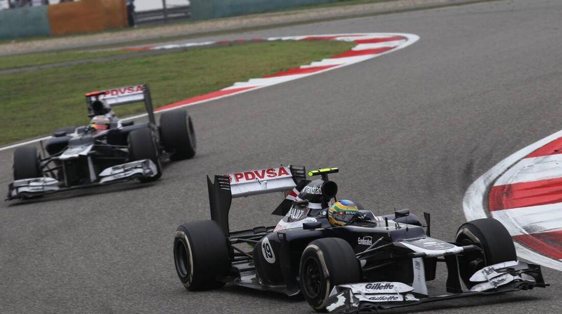 Williams  - Formel 1 - GP China - 15. April 2012