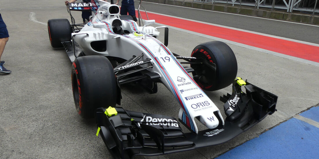 Williams - Formel 1 - GP China - Shanghai - 6.4.2017
