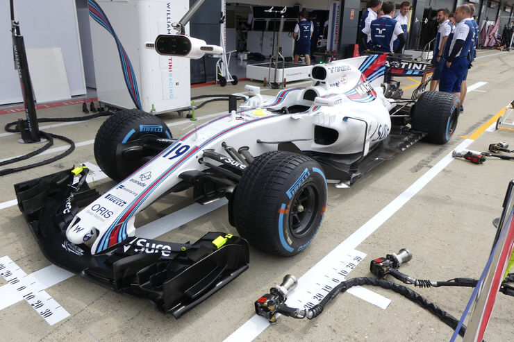 Williams - Formel 1 - GP England - 13. Juli 2017