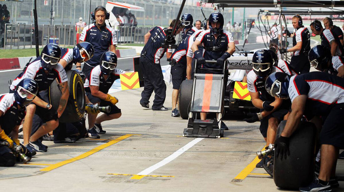 Williams - Formel 1 - GP Indien - 26. Oktober 2013