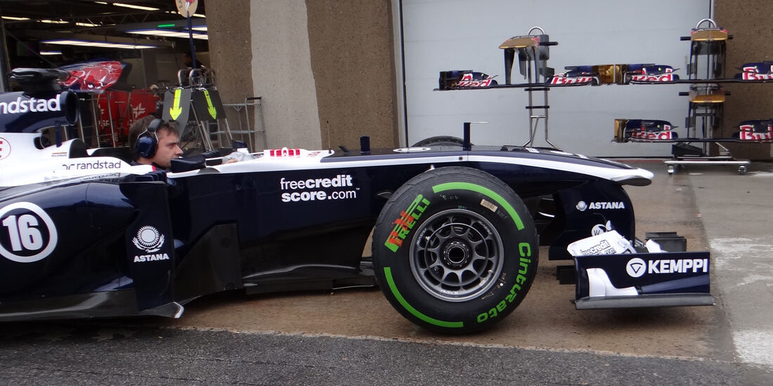 Williams - Formel 1 - GP Kanada - 06. Juni 2013