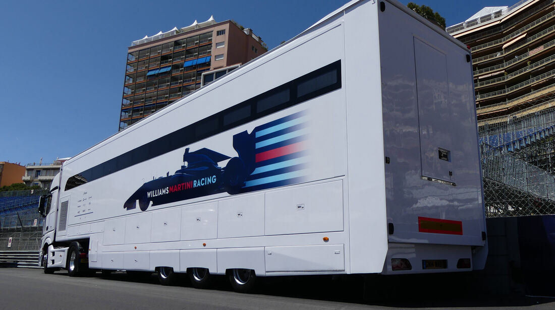 Williams - Formel 1 - GP Monaco - 24. Mai 2016