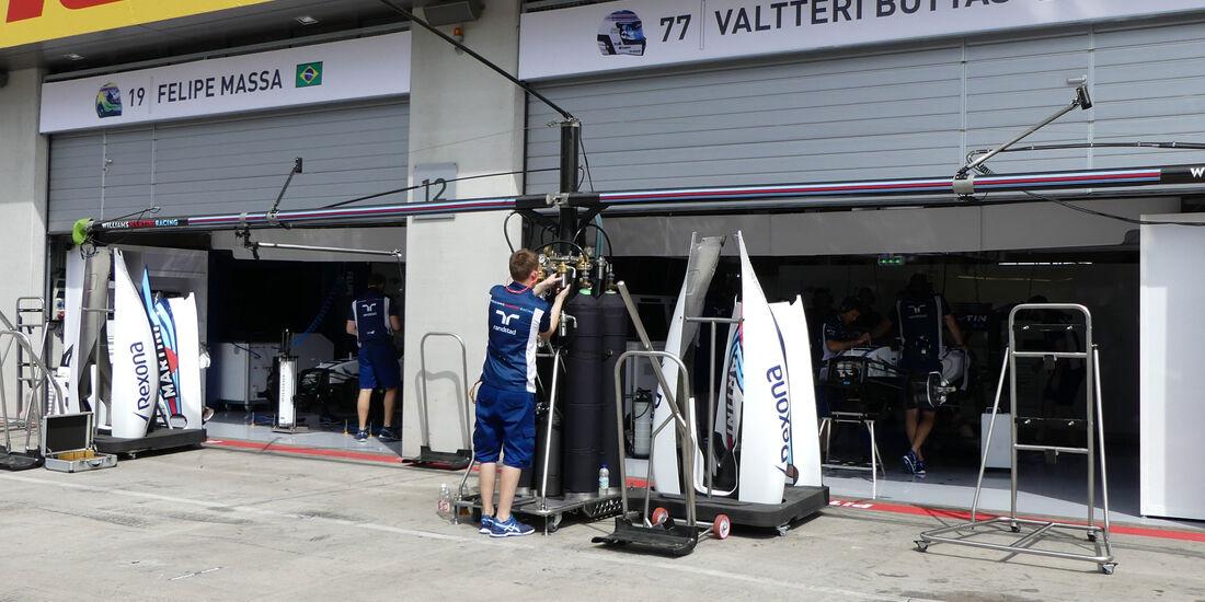 Williams - Formel 1 - GP Österreich - 30. Juni 2016