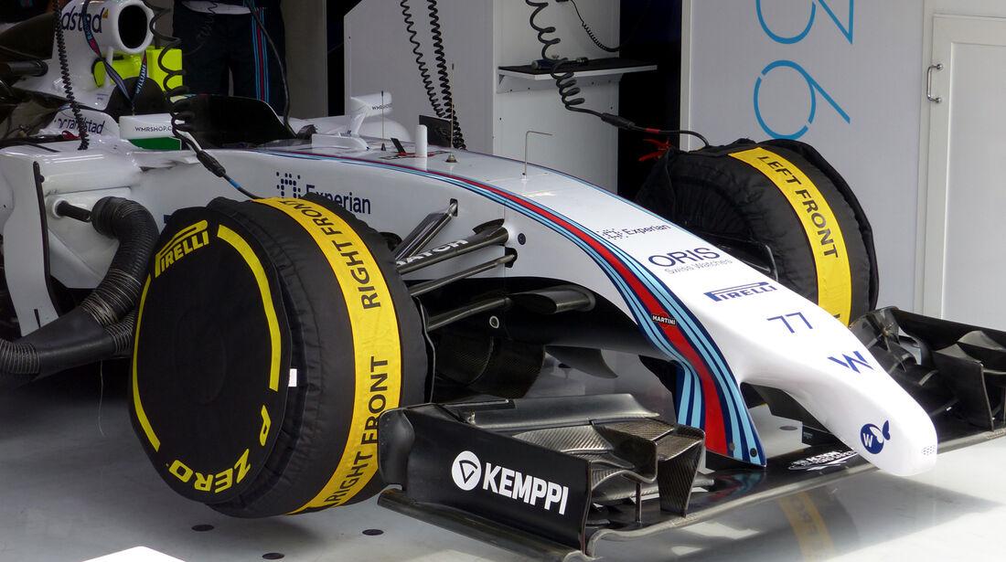 Williams - Formel 1 - GP Österreich - Spielberg - 21. Juni 2014