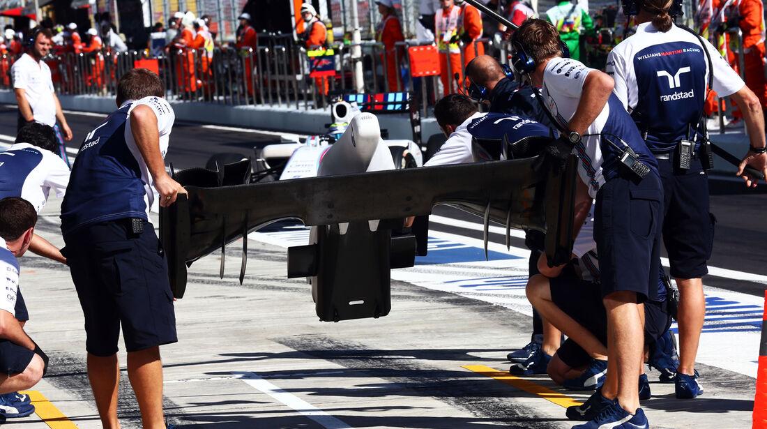 Williams - Formel 1 - GP Russland - 11. Oktober 2014