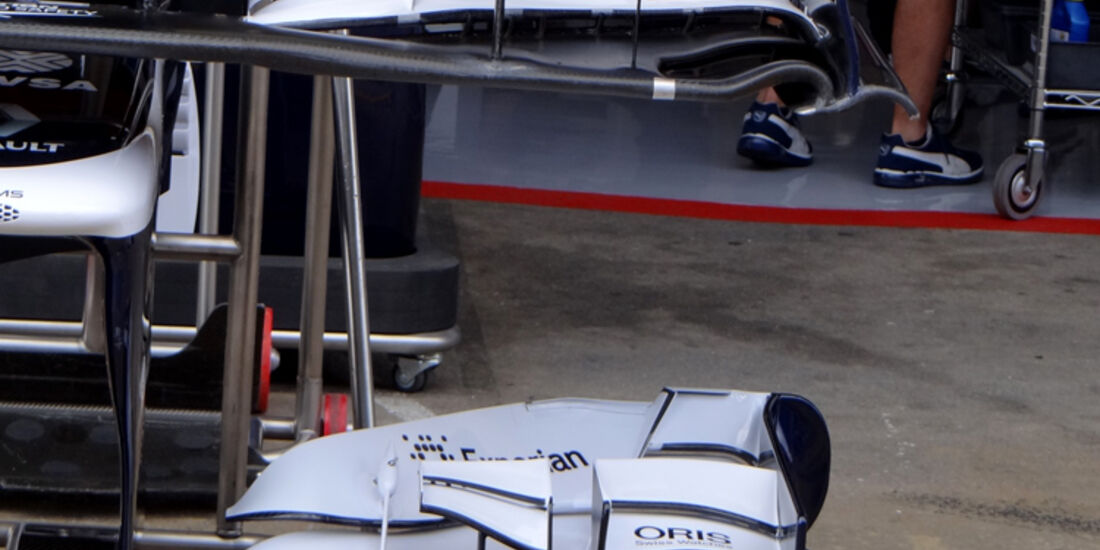 Williams - Formel 1 - GP Spanien - 10. Mai 2013