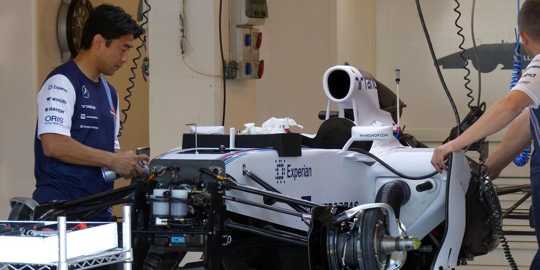 Williams - Formel 1 - GP Ungarn - 24. Juli 2014