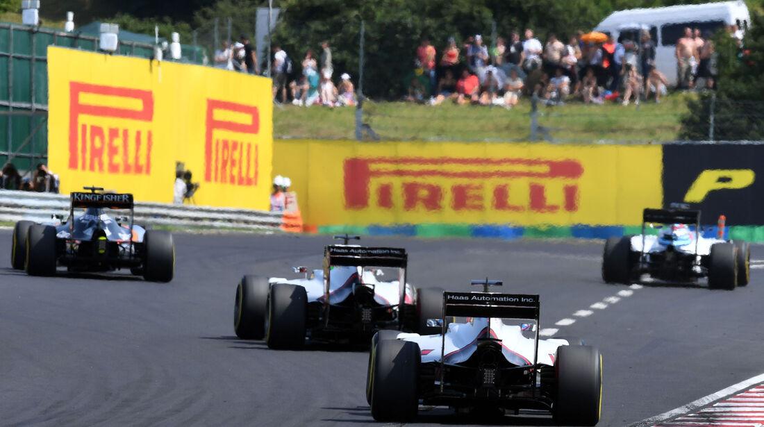 Williams - Formel 1 - GP Ungarn - 24. Juli 2016