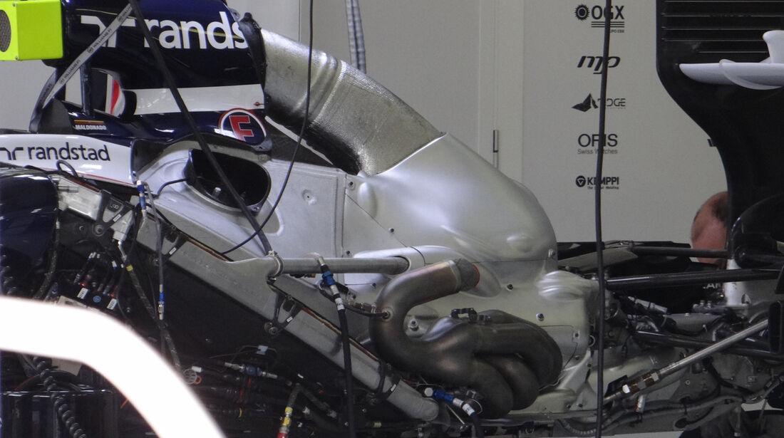 Williams - Formel 1 - GP Ungarn - Budapest - 27. Juli 2012