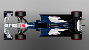 Williams - Formel 1 - Lackierung - Design-Concept