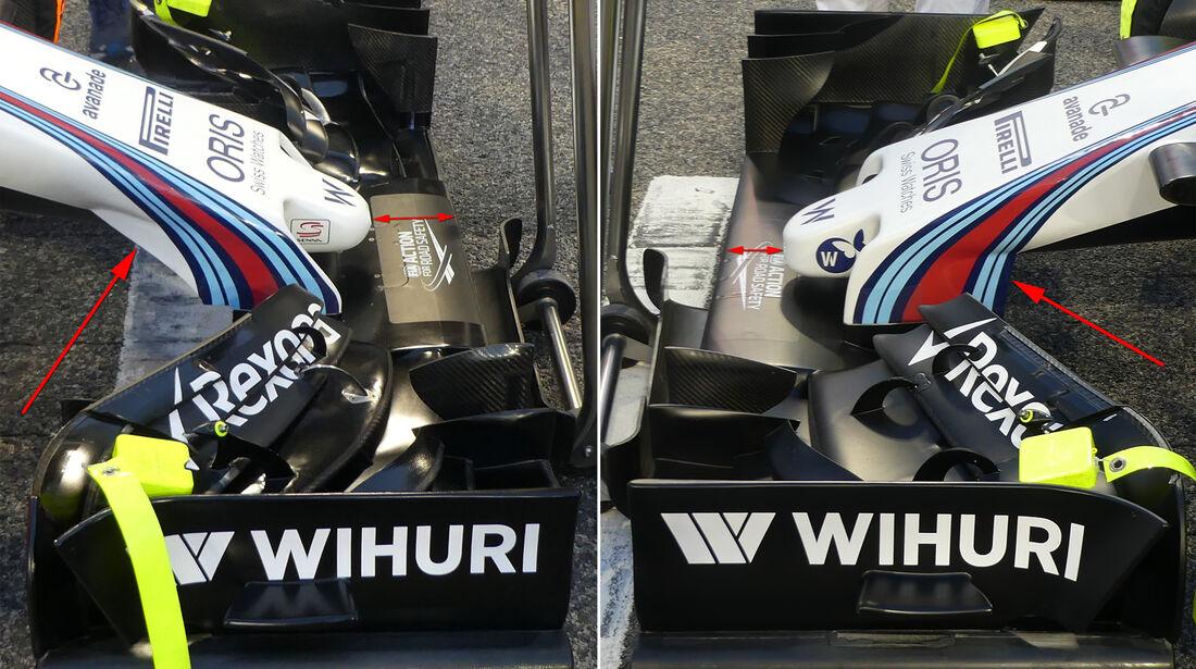 Williams - Formel 1 - Technik - GP Bahrain 2016