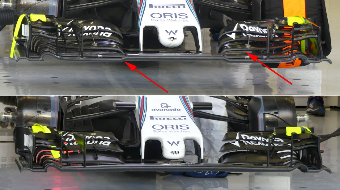 Williams - Formel 1 - Technik - GP Bahrain 2016