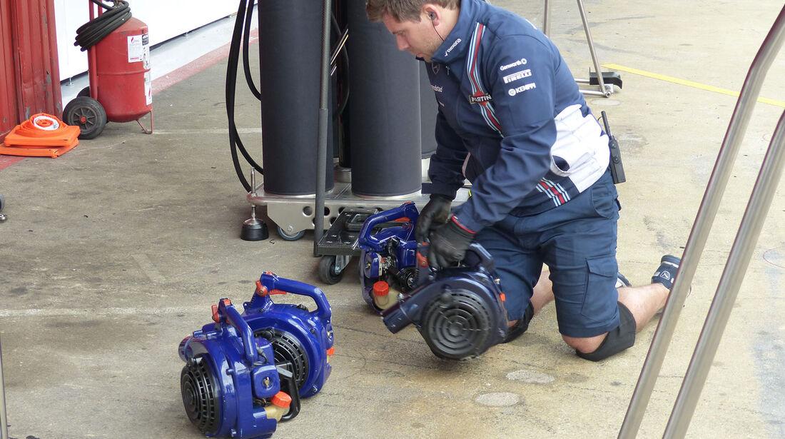 Williams - Formel 1-Test - Barcelona - 27. Februar 2015