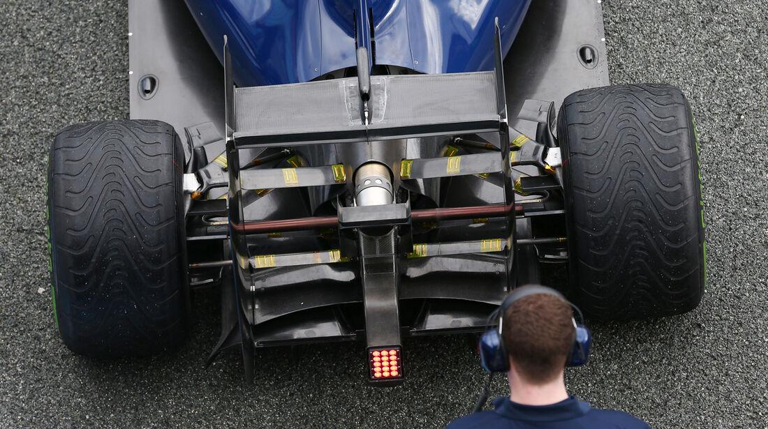 Williams - Formel 1 - Test - Jerez - 29. Januar 2014