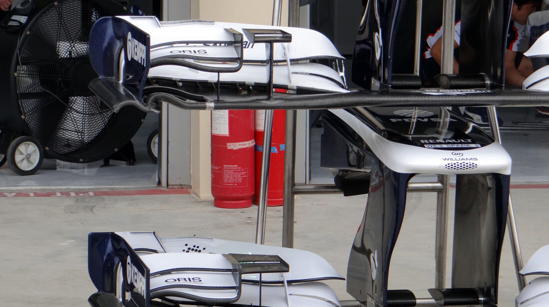 Williams Frontflügel - Formel 1 - GP Bahrain - 18. April 2013