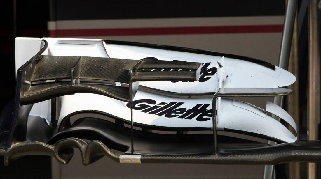 Williams Frontflügel - Formel 1 - GP Indien - 25. Oktober 2012