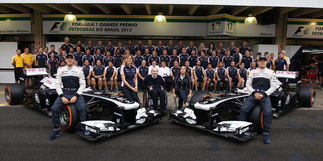 Williams - GP Brasilien - 23. November 2013