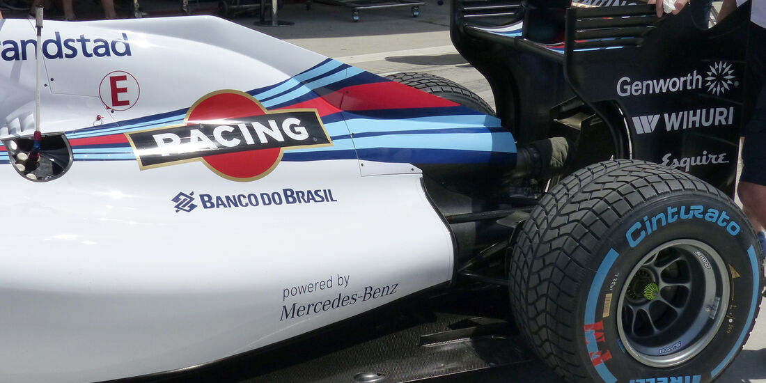 Williams - GP China 2014 - Technik