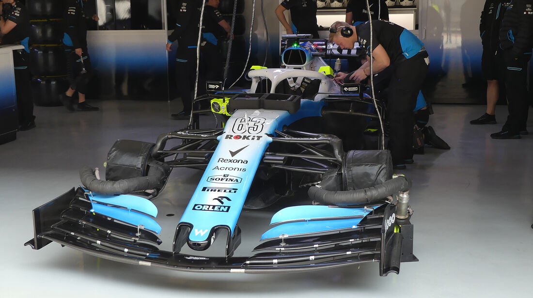 Williams - GP China - Shanghai - Formel 1 - Freitag - 12.4.2019