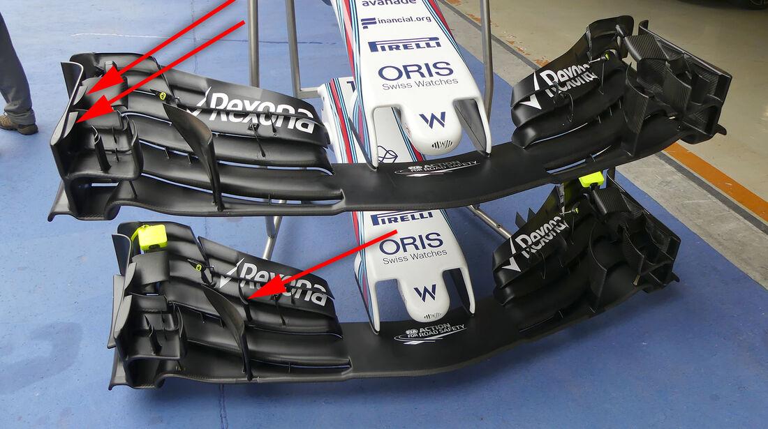 Williams - GP China - Technik - Formel 1 - 2017