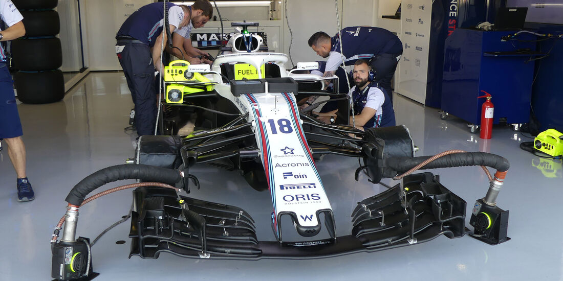 Williams - GP England - Silverstone - Formel 1 - Freitag - 6.7.2018