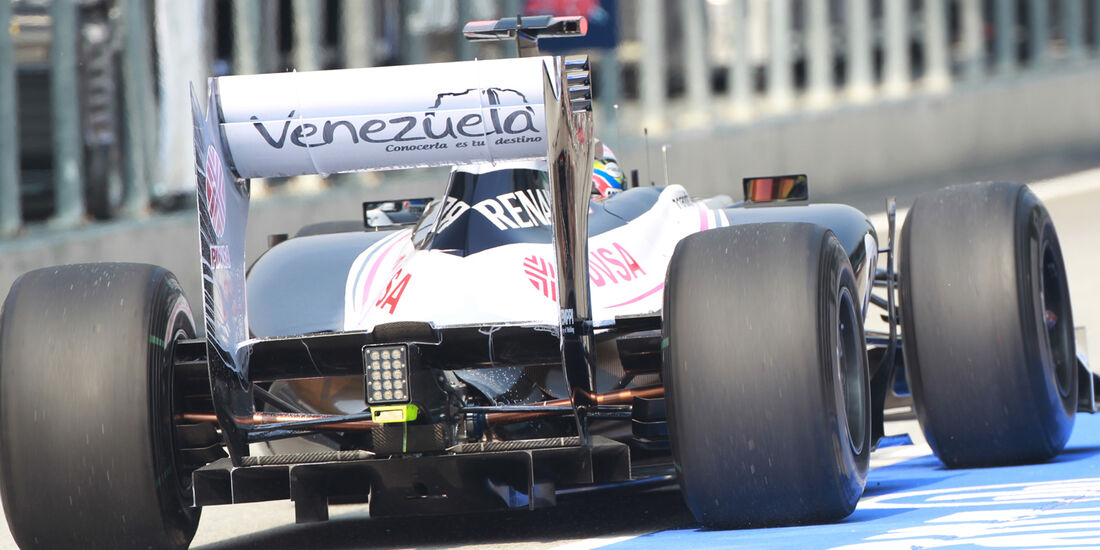 Williams - GP Malaysia - Training - 23. März 2012