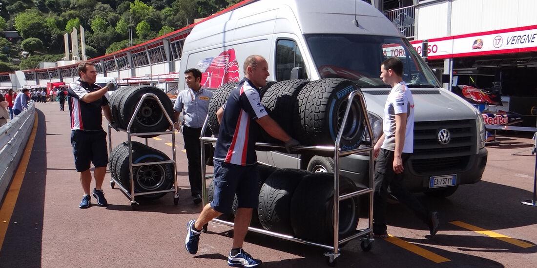 Williams - GP Monaco - 23. Mai 2012