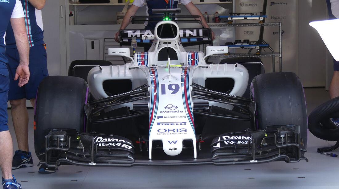 Williams - GP Monaco - Formel 1 - 14. Mai 2017