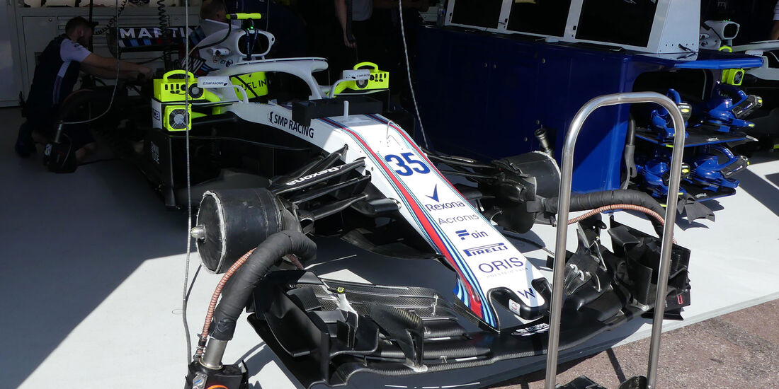 Williams - GP Monaco - Formel 1 - Donnerstag - 24.5.2018