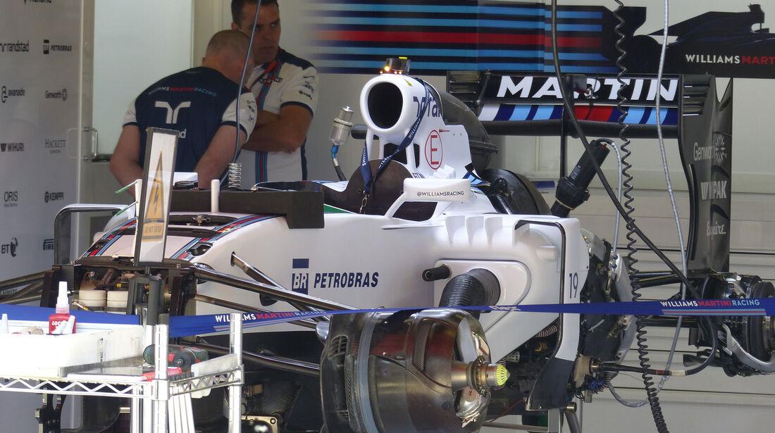 Williams - GP Spanien - Barcelona - Donnerstag - 7.5.2015